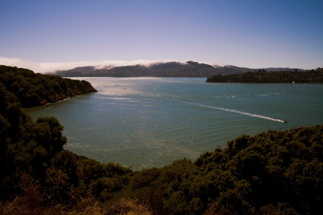 San Francisco Bay view from Angel Island State Park